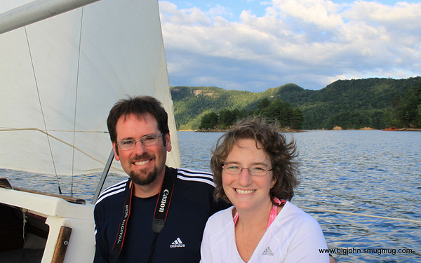 Jack & his wife Amy.