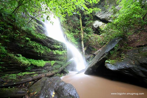 upper Wrights Creek falls