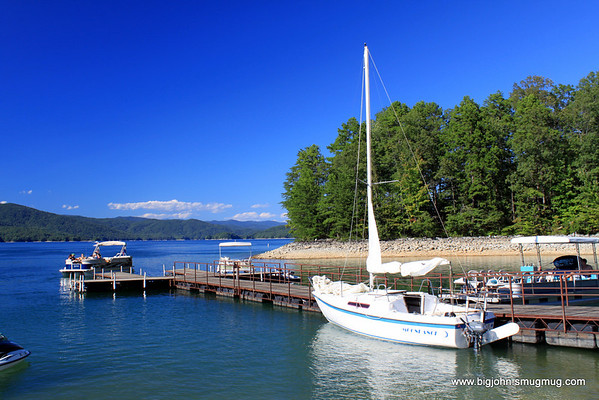 I wonder who owns that sailboat?