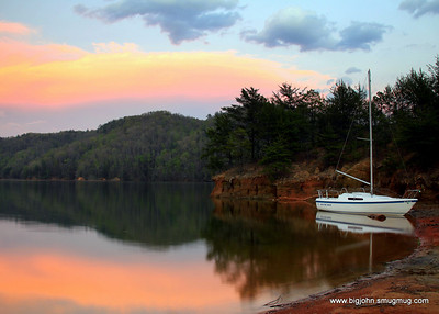 Perfect light at Lake Jocassee!