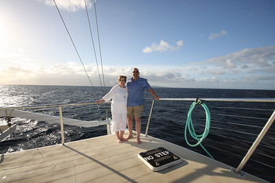 Sailing in Hawaii!