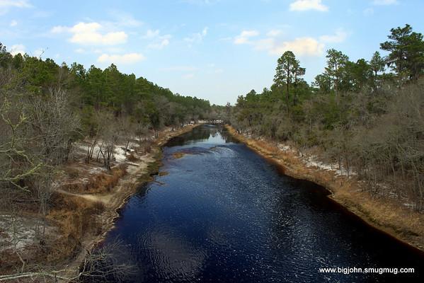 The river north of Big Shoals.