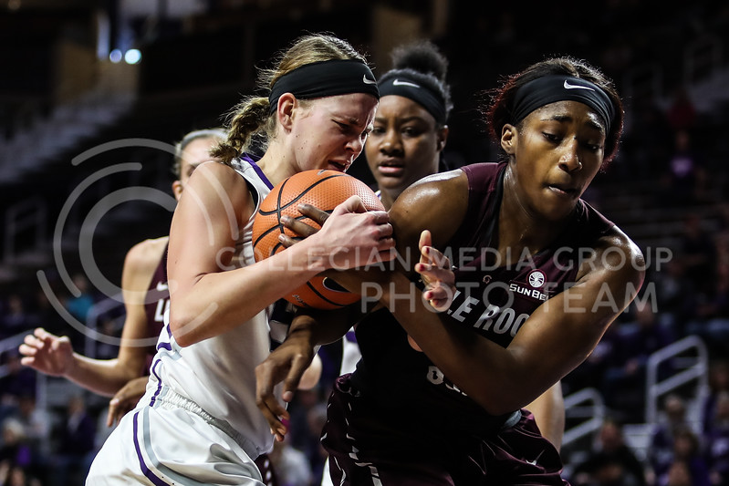 Kansas State University plays University of Arkansas at Little Rock at Bramlage Coliseum on December 16, 2017. (Photo by Cooper Kinley | K-State Athletics / Collegian Media Group)