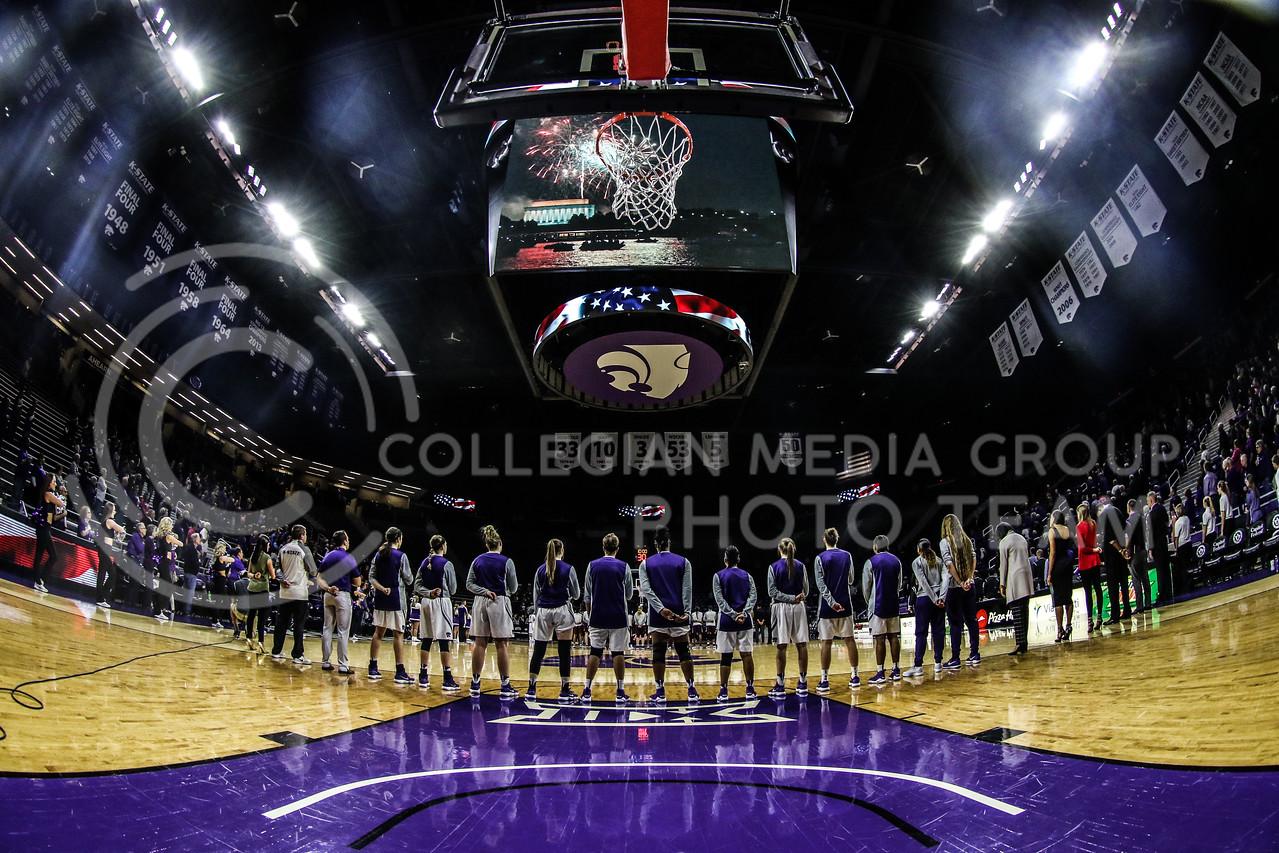 Kansas State University plays University of Arkansas at Little Rock at Bramlage Coliseum on December 16, 2017. (Photo by Cooper Kinley | K-State Athletics / Collegian Media Group)