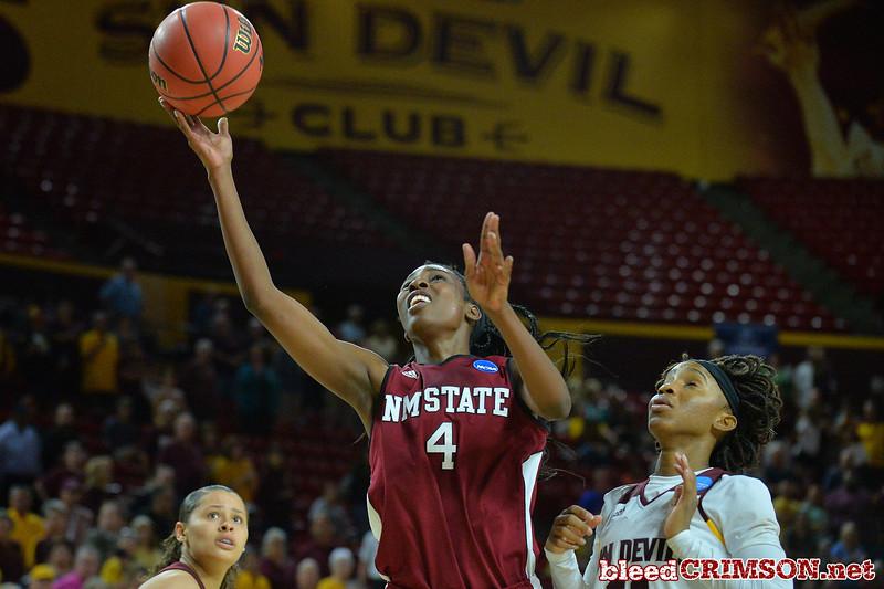 NCAA Tournament; First Round - No. 2 Arizona State vs. No. 15 New Mexico State