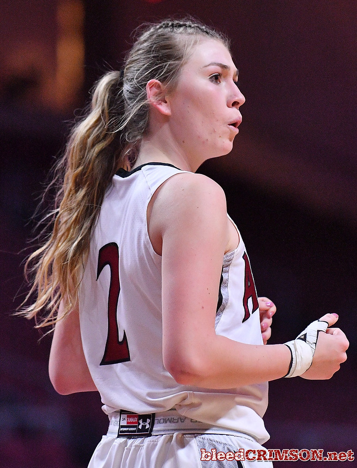 LAS VEGAS, NV - MARCH 07:  Brooke Salas #2 of the New Mexico State Aggies reacts after being called for a charging foul against the Chicago State Cougars during a quarterfinal game of the Western Athletic Conference basketball tournament at the Orleans Arena in Las Vegas, Nevada. The Aggies won 84-60.