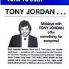 1984 Tony Jordan Flyer