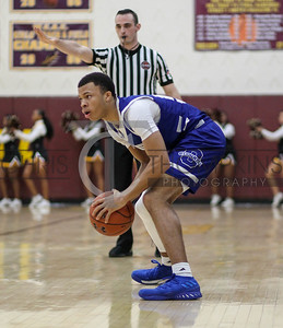 February 2, 2019:  WCAC boys basketball action between O'Connell HS and McNamara HS in Forestville. Photo by: Chris Thompkins/Pgsportsfan