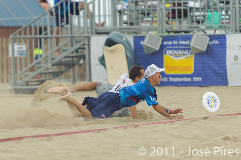 WCBU2011, Lignano Sabbiadoro, Italy.<br /> Master Division Final. Austria vs USA.<br /> PhotoID : 2011-08-27-1164