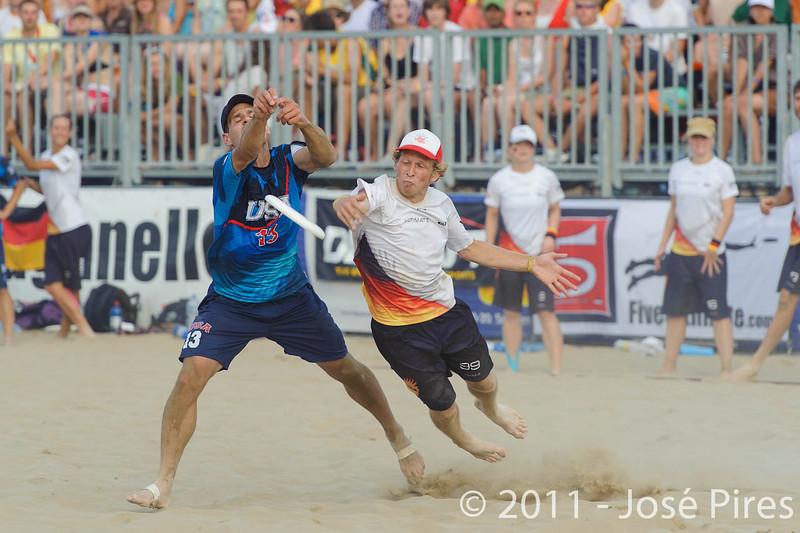 WCBU2011, Lignano Sabbiadoro, Italy.<br /> Mixed Division Final. Germany vs USA<br /> PhotoID : 2011-08-27-1557
