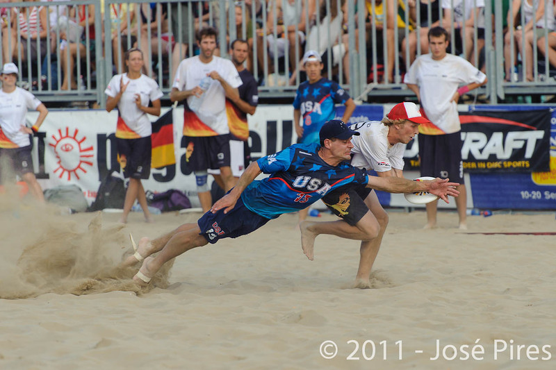 WCBU2011, Lignano Sabbiadoro, Italy.<br /> Mixed Division Final. Germany vs USA<br /> PhotoID : 2011-08-27-1566