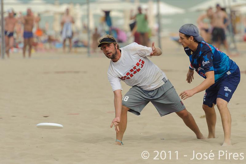 WCBU2011, Lignano Sabbiadoro, Italy.<br /> Master Division Final. Austria vs USA.<br /> PhotoID : 2011-08-27-1111