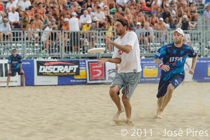 WCBU2011, Lignano Sabbiadoro, Italy.<br /> Master Division Final. Austria vs USA.<br /> PhotoID : 2011-08-27-1172