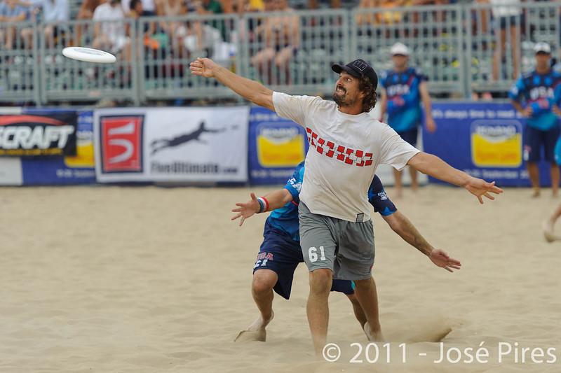 WCBU2011, Lignano Sabbiadoro, Italy.<br /> Master Division Final. Austria vs USA.<br /> PhotoID : 2011-08-27-1143