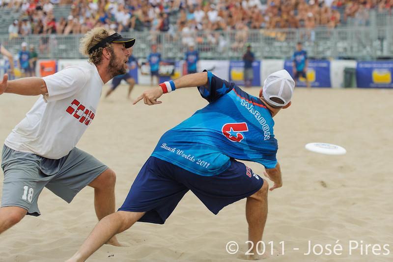 WCBU2011, Lignano Sabbiadoro, Italy.<br /> Master Division Final. Austria vs USA.<br /> PhotoID : 2011-08-27-1135