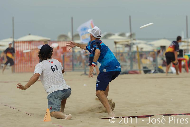 WCBU2011, Lignano Sabbiadoro, Italy.<br /> Master Division Final. Austria vs USA.<br /> PhotoID : 2011-08-27-1209
