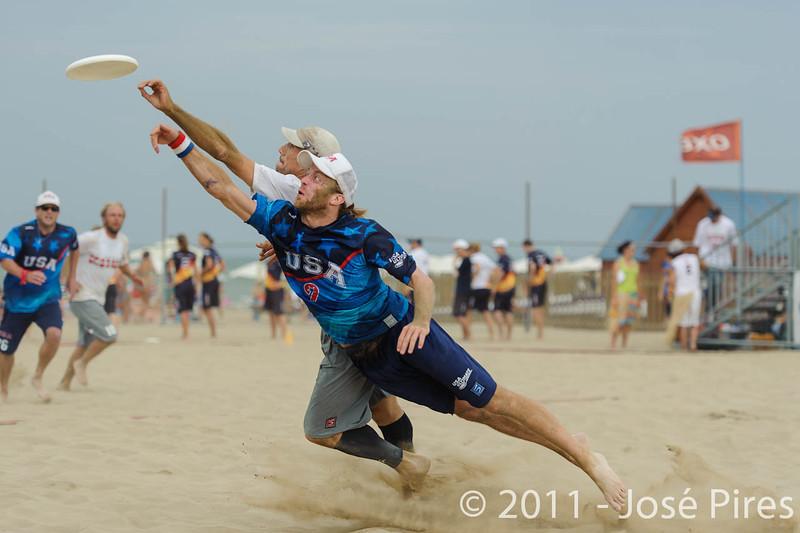 WCBU2011, Lignano Sabbiadoro, Italy.<br /> Master Division Final. Austria vs USA.<br /> PhotoID : 2011-08-27-1261