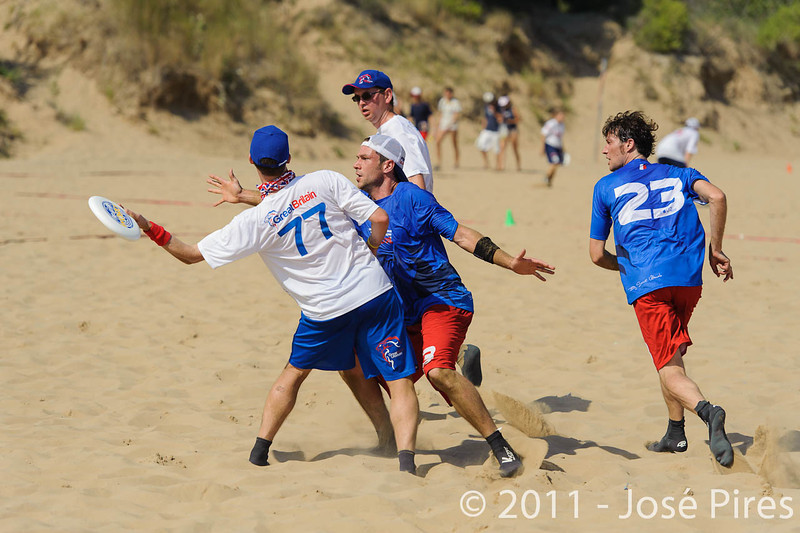 WCBU2011, Lignano Sabbiadoro, Italy.<br /> France  vs Great Britain. Master Division.<br /> PhotoID : 2011-08-22-0011