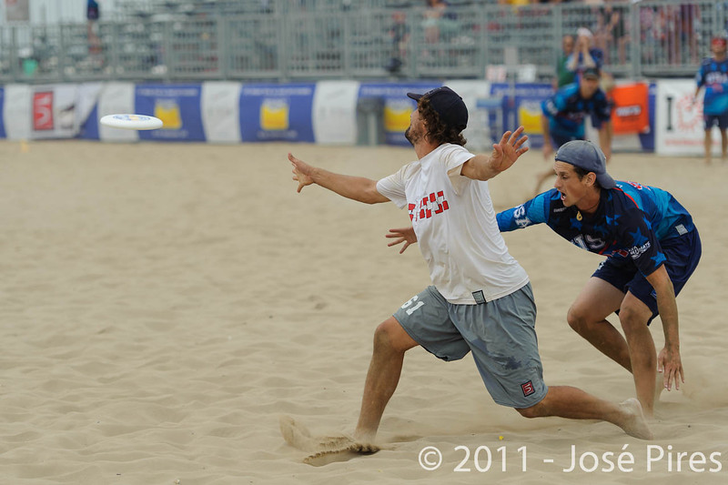 WCBU2011, Lignano Sabbiadoro, Italy.<br /> Master Division Final. Austria vs USA.<br /> PhotoID : 2011-08-27-1155