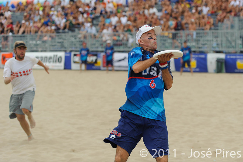 WCBU2011, Lignano Sabbiadoro, Italy.<br /> Master Division Final. Austria vs USA.<br /> PhotoID : 2011-08-27-1130
