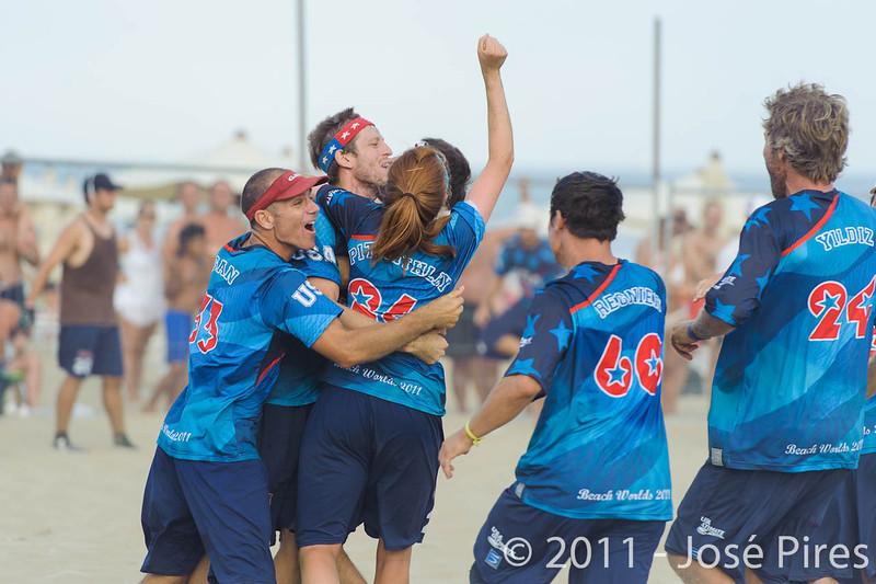 WCBU2011, Lignano Sabbiadoro, Italy.<br /> Mixed Division Final. Germany vs USA<br /> PhotoID : 2011-08-27-1590