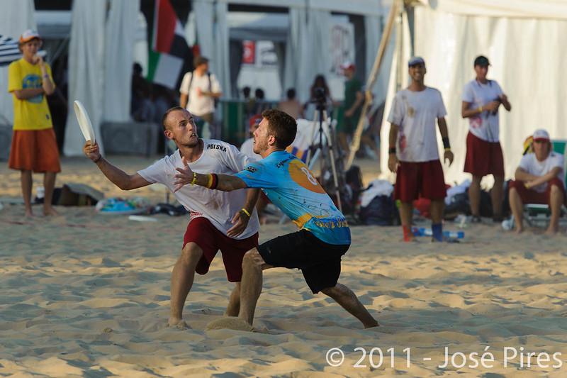 WCBU2011, Lignano Sabbiadoro, Italy.<br /> Currier Island vs Poland. Mixed Division<br /> PhotoID : 2011-08-24-0523