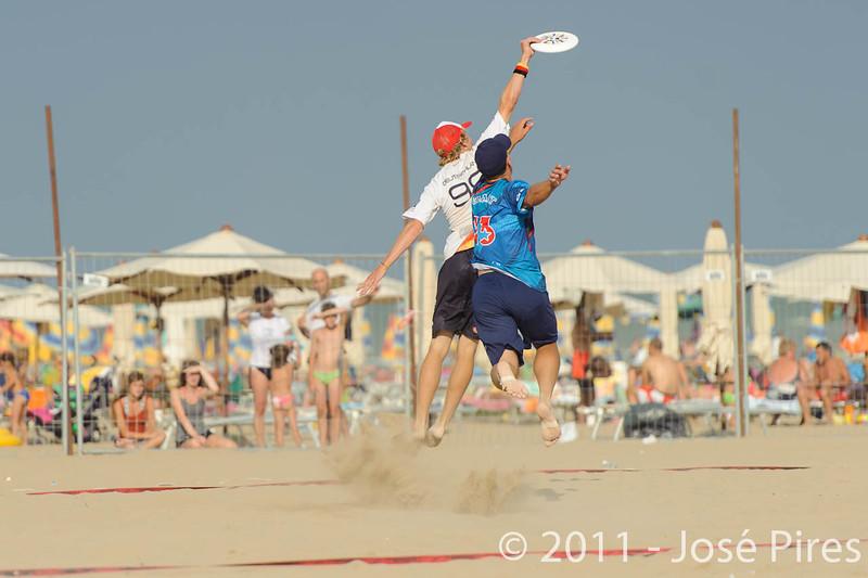 WCBU2011, Lignano Sabbiadoro, Italy.<br /> Mixed Division Final. Germany vs USA<br /> PhotoID : 2011-08-27-1355