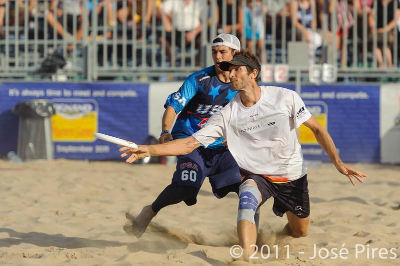 WCBU2011, Lignano Sabbiadoro, Italy.<br /> Mixed Division Final. Germany vs USA<br /> PhotoID : 2011-08-27-1417