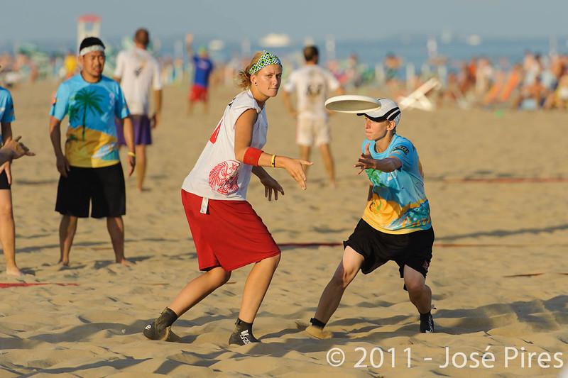 WCBU2011, Lignano Sabbiadoro, Italy.<br /> Currier Island vs Poland. Mixed Division<br /> PhotoID : 2011-08-24-0525