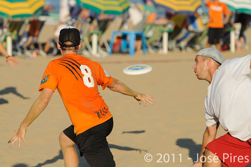 WCBU2011, Lignano Sabbiadoro, Italy.<br /> Poland vs Netherlands. Mixed Division<br /> PhotoID : 2011-08-25-0875