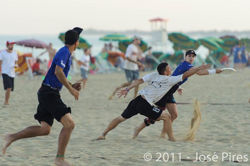 WCBU2011, Lignano Sabbiadoro, Italy.<br /> Slovakia vs United Arab Emirates. Mixed Division<br /> PhotoID : 2011-08-25-1107