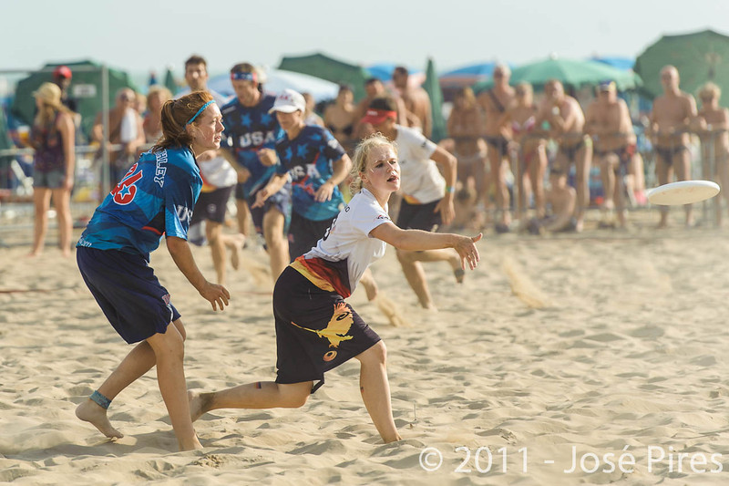 WCBU2011, Lignano Sabbiadoro, Italy.<br /> Mixed Division Final. Germany vs USA<br /> PhotoID : 2011-08-27-1364