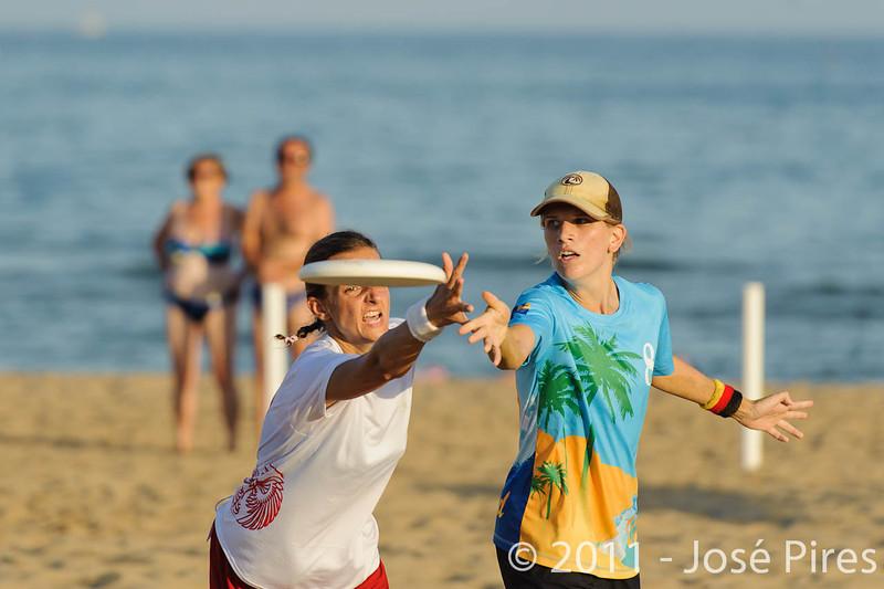 WCBU2011, Lignano Sabbiadoro, Italy.<br /> Currier Island vs Poland. Mixed Division<br /> PhotoID : 2011-08-24-0541