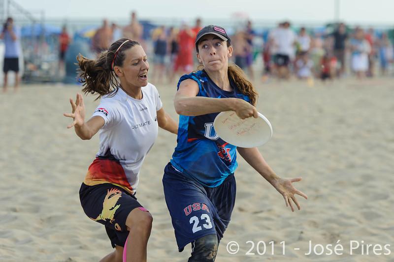 WCBU2011, Lignano Sabbiadoro, Italy.<br /> Mixed Division Final. Germany vs USA<br /> PhotoID : 2011-08-27-1580