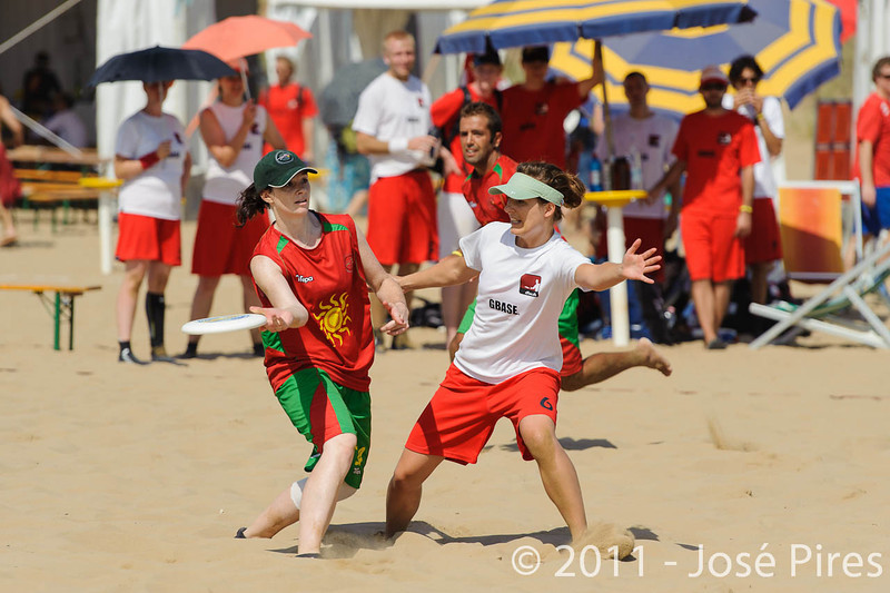WCBU2011, Lignano Sabbiadoro, Italy.<br /> Portugal vs Denmark. Mixed Division<br /> PhotoID : 2011-08-23-0206