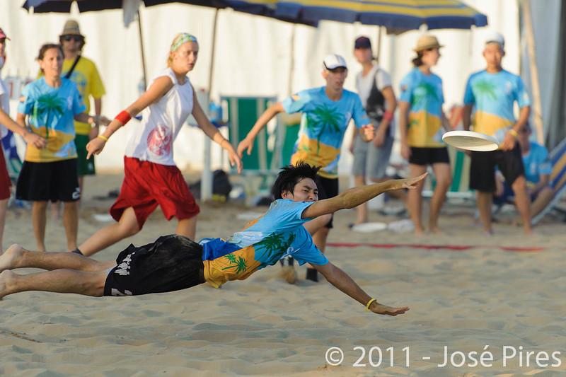 WCBU2011, Lignano Sabbiadoro, Italy.<br /> Currier Island vs Poland. Mixed Division<br /> PhotoID : 2011-08-24-0570