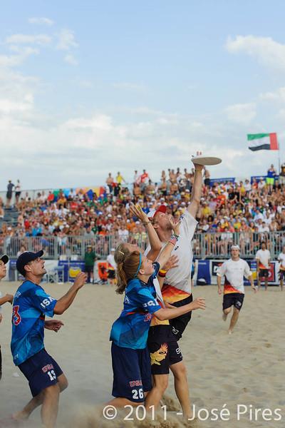 WCBU2011, Lignano Sabbiadoro, Italy.<br /> Mixed Division Final. Germany vs USA<br /> PhotoID : 2011-08-27-1546