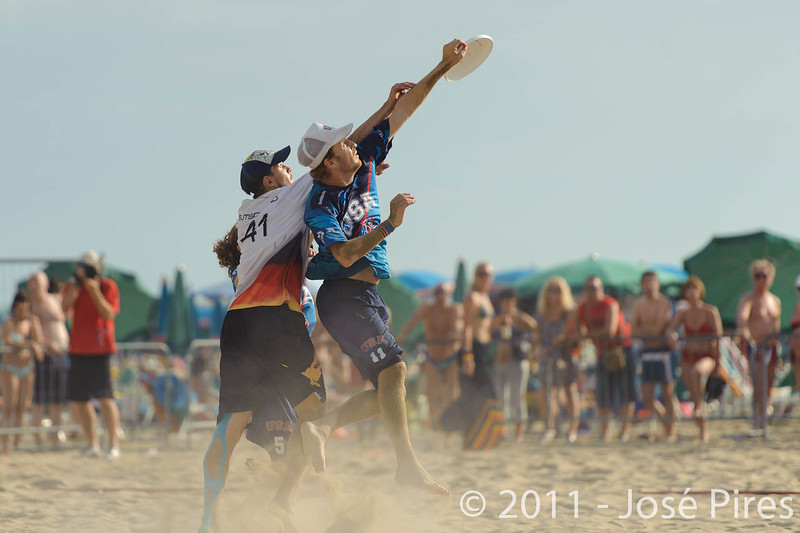 WCBU2011, Lignano Sabbiadoro, Italy.<br /> Mixed Division Final. Germany vs USA<br /> PhotoID : 2011-08-27-1291