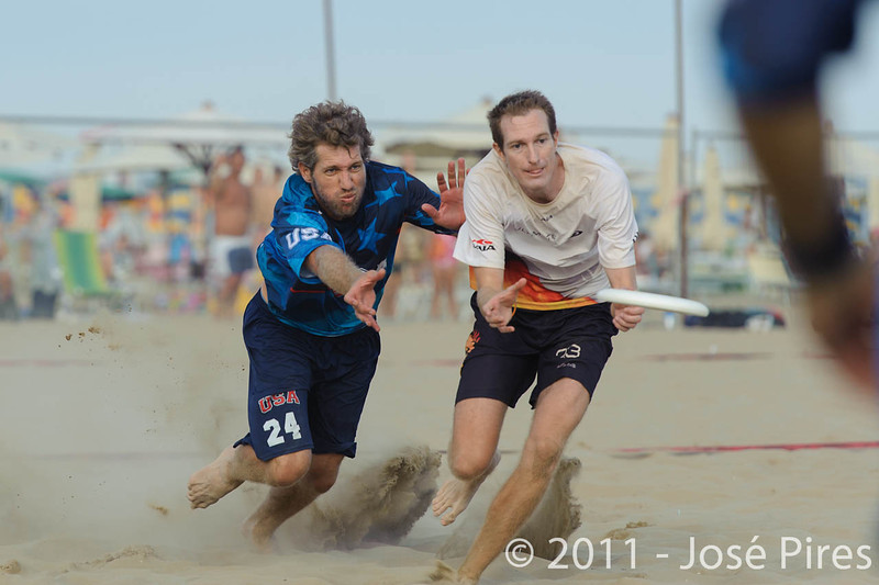 WCBU2011, Lignano Sabbiadoro, Italy.<br /> Mixed Division Final. Germany vs USA<br /> PhotoID : 2011-08-27-1537