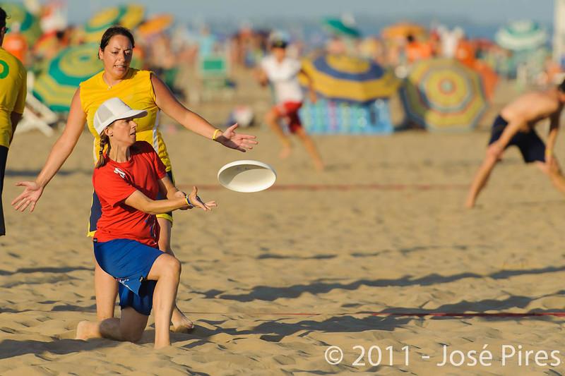 WCBU2011, Lignano Sabbiadoro, Italy.<br /> Brazil vs Great Britain. Mixed Master Division<br /> PhotoID : 2011-08-25-0942