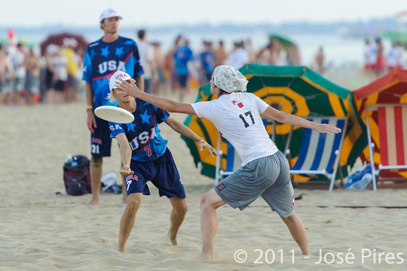 WCBU2011, Lignano Sabbiadoro, Italy.<br /> Austria vs USA. Mixed Master Division<br /> PhotoID : 2011-08-24-0696