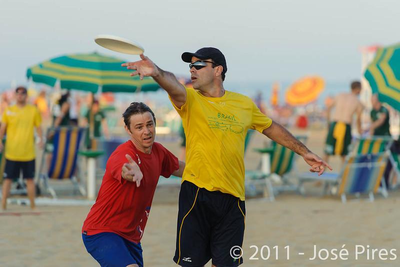 WCBU2011, Lignano Sabbiadoro, Italy.<br /> Great Britain vs Brazil. Mixed Master Division<br /> PhotoID : 2011-08-24-0589