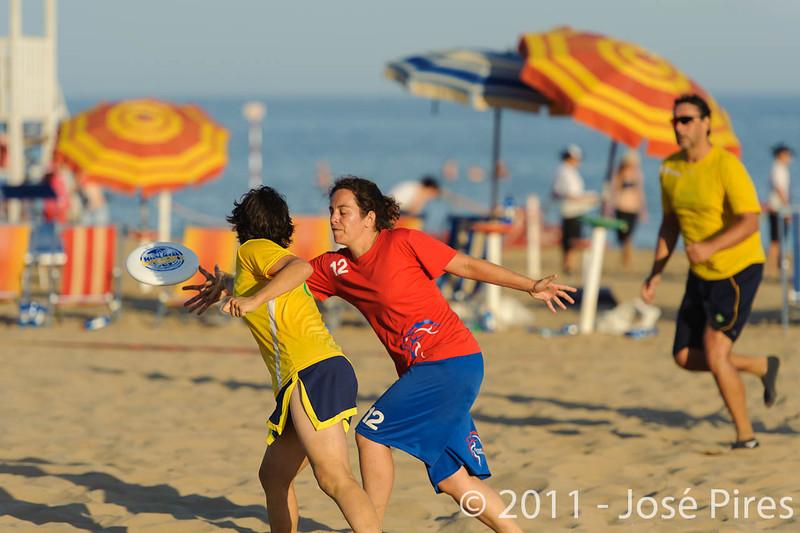 WCBU2011, Lignano Sabbiadoro, Italy.<br /> Brazil vs Great Britain. Mixed Master Division<br /> PhotoID : 2011-08-25-0927