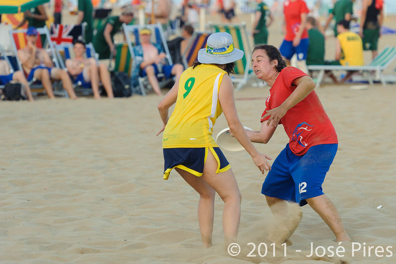 WCBU2011, Lignano Sabbiadoro, Italy.<br /> Great Britain vs Brazil. Mixed Master Division<br /> PhotoID : 2011-08-24-0626