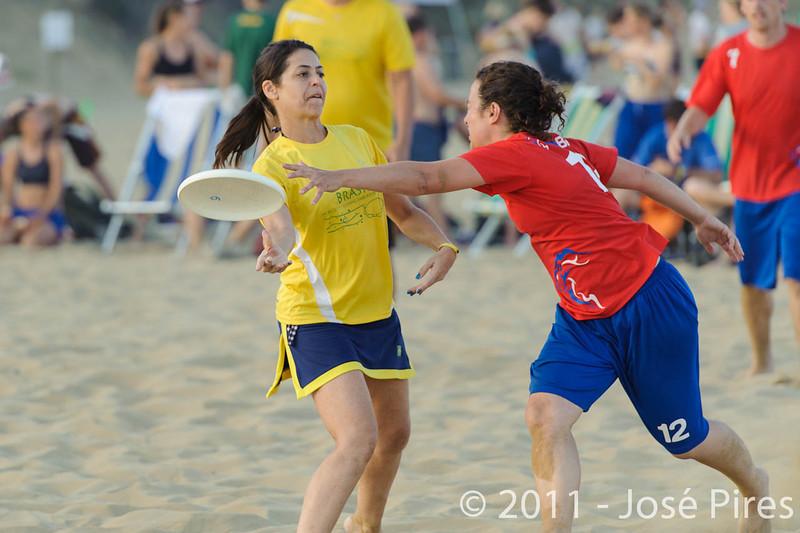 WCBU2011, Lignano Sabbiadoro, Italy.<br /> Great Britain vs Brazil. Mixed Master Division<br /> PhotoID : 2011-08-24-0576