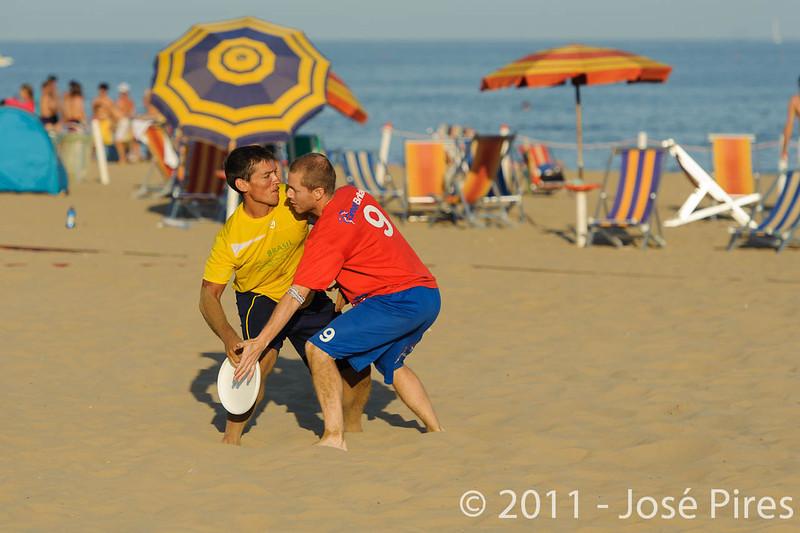 WCBU2011, Lignano Sabbiadoro, Italy.<br /> Brazil vs Great Britain. Mixed Master Division<br /> PhotoID : 2011-08-25-0922