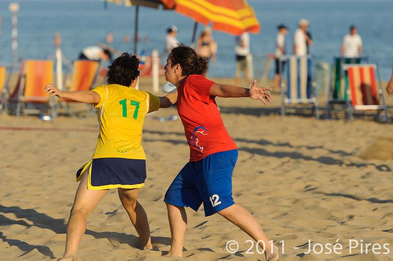 WCBU2011, Lignano Sabbiadoro, Italy.<br /> Brazil vs Great Britain. Mixed Master Division<br /> PhotoID : 2011-08-25-0924