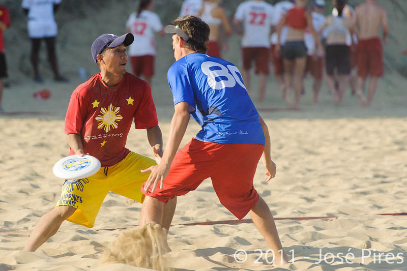 WCBU2011, Lignano Sabbiadoro, Italy.<br /> France vs Philippines. Open Division<br /> PhotoID : 2011-08-25-0790