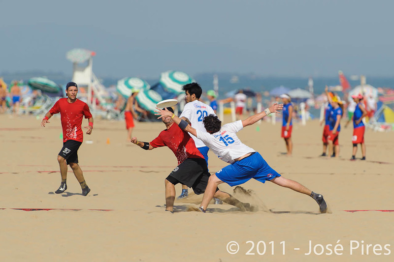 WCBU2011, Lignano Sabbiadoro, Italy.<br /> Switzerland vs Great Britain. Open Division<br /> PhotoID : 2011-08-24-0281