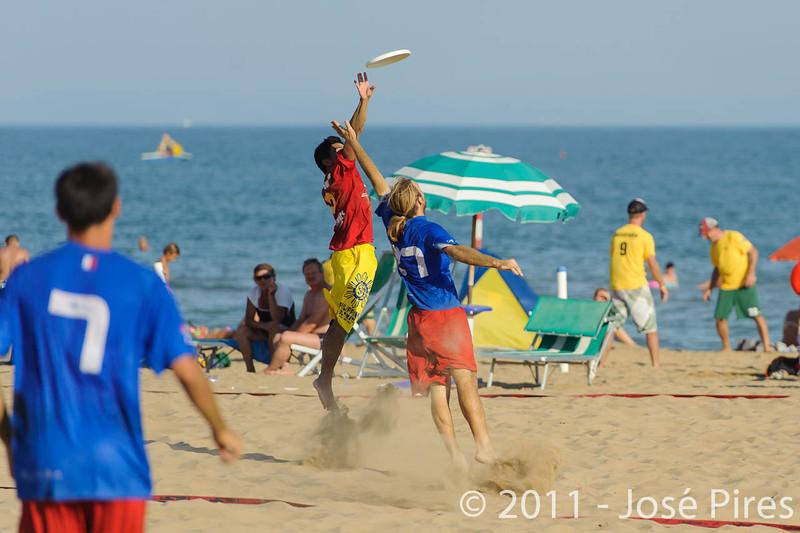 WCBU2011, Lignano Sabbiadoro, Italy.<br /> France vs Philippines. Open Division<br /> PhotoID : 2011-08-25-0793